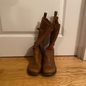 Dr. Marten Brown Leather Boots